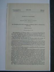 Government Report 1902 Remove The Charge Of Desertion Against James M Crabtree