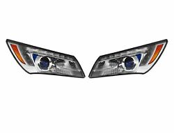 Left Right Genuine Headlights Headlamps With Hid Pair Set For Buick Lacrosse Gm