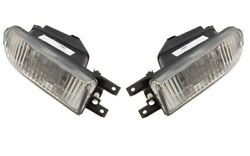Front Left And Right Genuine Fog Lights Pair Set For Audi 100 Quattro Uses H3 Bulb