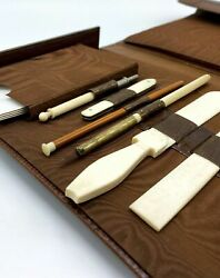 Antoine Maitre / Book-shaped Reading And Writing Kit 1859