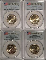 2018 Pandd Innovation Washington Signed 1st Patent 1 Pcgs Ms67 First Strike A And B