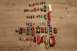 Lot Of 58 Vintage Tootsie Antique Car Truck Trailer Toys Metal
