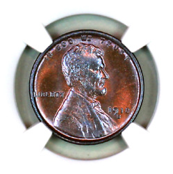 1918-s Ms65 Bn Ngc Lincoln Wheat Penny Superb Registry Quality Collection