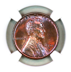 1931-d Ms64 Rb Ngc Lincoln Wheat Penny Superb Registry Quality Collection