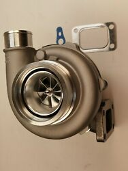 Gt30 Gt35 V-band Gtx3071r .63 A/r Ball Bearing Billet Turbo Charger T3 A/r .60