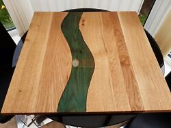 Green Resin Wooden Decorative Dining Center Table Top Office And Home Dandeacutecor Gifts