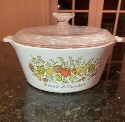 Corning Ware Casserole 2.5l Vintage And Rare Excellent Condition.