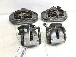 2013-2018 Mercedes Gl63 Amg X166 Front Rear Right And Left Brake Caliper Amg Set