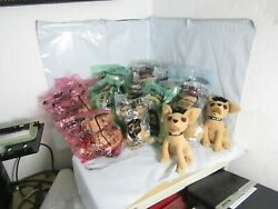 Lot Of 16 New Taco Bell Plush Talking Chihuahua's In Bag, Many Different Types.