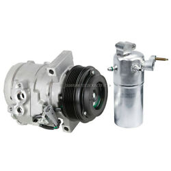 Oem Ac Compressor W/ A/c Drier For Chevy Express 1500 2500 And Gmc Savana