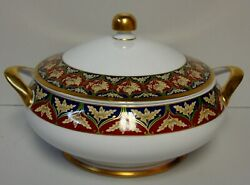 Christian Dior Tabriz Round Covered Vegetable Serving Bowl With Lid Best