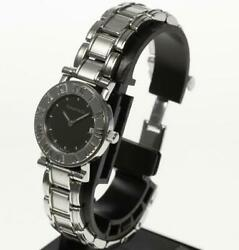 And Co Altas Quartz Stainless Steel Watch Black Dial