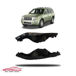 Fit 2008-2012 Ford Escape/08-11 Mecury Mariner Front Bumper Support Bracket Pair