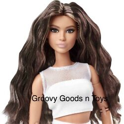 Barbie Signature The Looks Doll 2021 Gtd89 1 Posable Lina New
