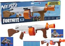 Nerf Fortnite Dg Blaster Rotating Drum Ages 8+ Toy Gun Fire Play Fight Game Gift