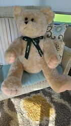 2004 Marshall Fieldand039s Very Rare Vintage Teddy Bear - 36 Inches Tall One Owner
