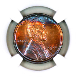 1918-d Ms64 Rb Ngc Lincoln Wheat Penny Superb Registry Quality Collection