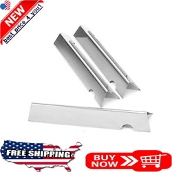 Bbq Grill Stainless Steel Flavor Bars 3-pack For Weber Genesis Ii Lx 240 Grills
