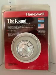New Vintage Honeywell Heating/cond Thermostat The Round Ct87b 085267870245