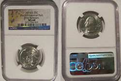2019 S Guam War In The Pacific Np Quarter 25c Ngc Ms 68 First Releases