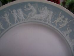 Minton Pate Sur Pate Rare Prototype Dinner Plate 10 1/4 Inch Very Good Condition
