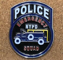 Rare Nypd Police Sod Emergency Service Unit Squad Esu Ess Patch Challenge Coin