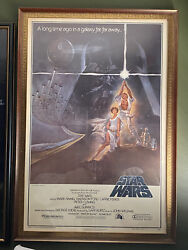 Star Wars 1977 Original Movie Poster Style A Authentic First Printing 77/21