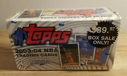 2003-04 Topps Basketball Complete Set Factory Sealed Lebron James Rookie Card