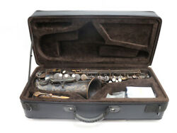 chateau Cas-h92ul Alto Saxophone Red Brass 92 Copper Hand Carved With Case