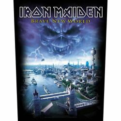Iron Maiden - Brave New World - Large Size - Sew On Back Patch