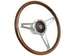 1968 - 1978 Ford Mustang Shelby Style Steering Wheel Kit   Ford Cobra Emblem