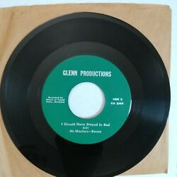 Radical Five I Should Have Stayed In Bed 1967 45 Glenn Productions Co 2149 Nos