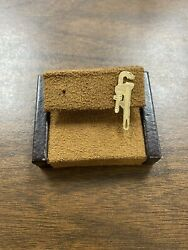 Unique 14kt Yellow Gold Wrench Tool Pin For Handyman Carpenter Plumber