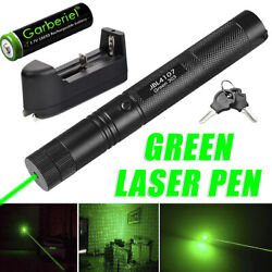 Zoomable 900miles Green Laser Pointer Pen Astronomy Visible Beam Light For Pets