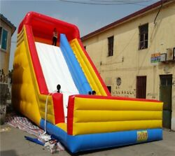 Inflatable Commercial Bounce House Wet Dry Large Bouncer Water Slide With Blower