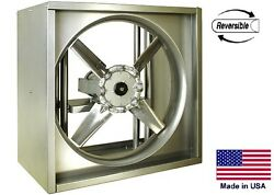 Exhaust And Intake Fan Reversible - Direct Drive - 30 2 Hp 230/460v 11550 Cfm