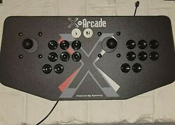 X-arcade Dual Joystick Two Players Great For Mame And Classic Arcade Games