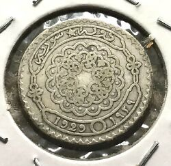 Middle East 10 Piastres 1929 Silver Coin