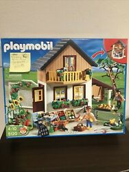 Retired Playmobil 5120farm House With Market W/box Ends Aug 9