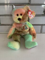 Original Peace Ty Beanie Babies Rare Retired 1996 Collection