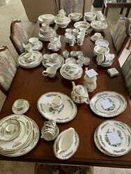 150 Piece Indian Tree Vintage China Collection.andnbsp Very Good Condition.