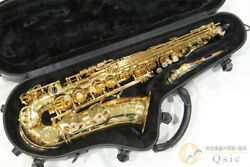 yamaha Yas-82z Silver Neck Alto Saxophone With Case Shipped From Japan