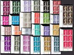Acp-dex ... 1p-50p Cylinder Blocks ... Sold And Priced Individually