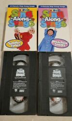 Cedarmont Kids Sing-along-songs Toddler Tunes And Preschool Songs - Vhs 1995