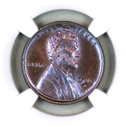 1911-d Ms64 Bn Ngc Lincoln Wheat Penny Superb Registry Quality Collection