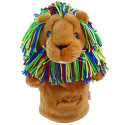 John Daly Multi-color Lion Golf Driver Headcover - New Daphneand039s Driver Head