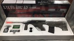Steyr Mannlicher Aug A2 Airsoft Rifle Bb Electric Power Semiandauto New Other