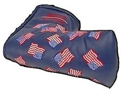 Scotty Cameron Golf Cover 2002 Dancing Mni Flag Navy Blue Putter Cover