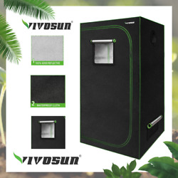 Vivosun 36x20x63 Mylar Hydroponic Grow Tent For Indoor Plant Growing 3and039 X2and039