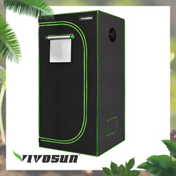 Vivosun 24x24x36 Mylar Hydroponic Grow Tent For Indoor Plant Growing 2and039x2and039